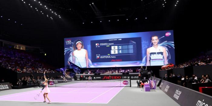 深圳WTA年終總決賽開戰 快閃店驚艷亮相觀眾打卡
