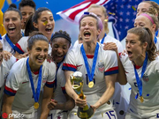 美国女足强势卫冕连破纪录 7战轰26球单场虐13球