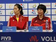 郎平:朱婷休战因不缺比赛 李盈莹以赛代练长经验