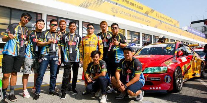 778車隊曾志剛順利完成澳門首個排位賽