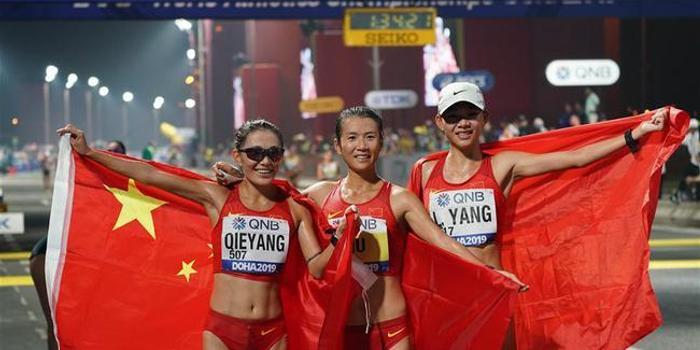 多哈田徑世錦賽:美國14金領跑 中國隊躋身四強