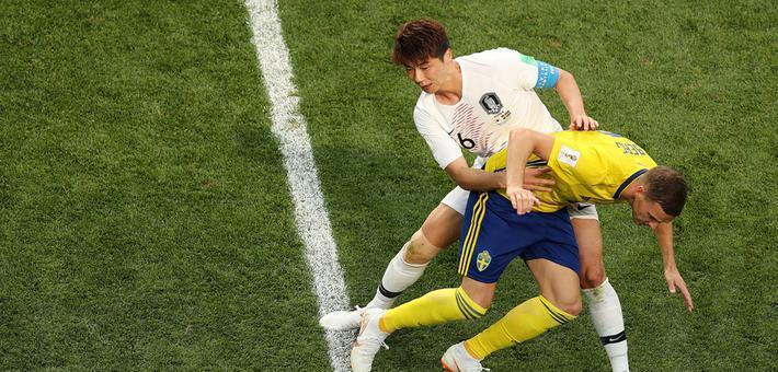 世界杯-孙兴慜哑火韩国0-1瑞典
