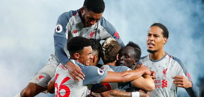 英超-萨拉赫造点球 利物浦2-0连胜