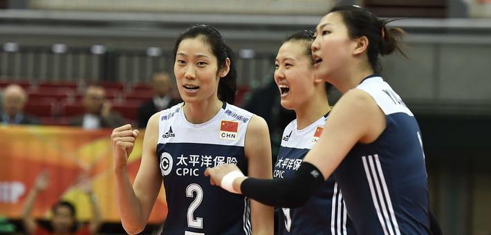 女排世锦赛六强赛中国3-1荷兰