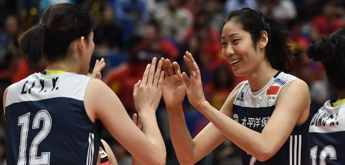 世锦赛-中国女排3-0荷兰夺得季军