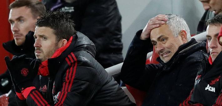 双红会曼联1-3负利物浦 争四岌岌可危