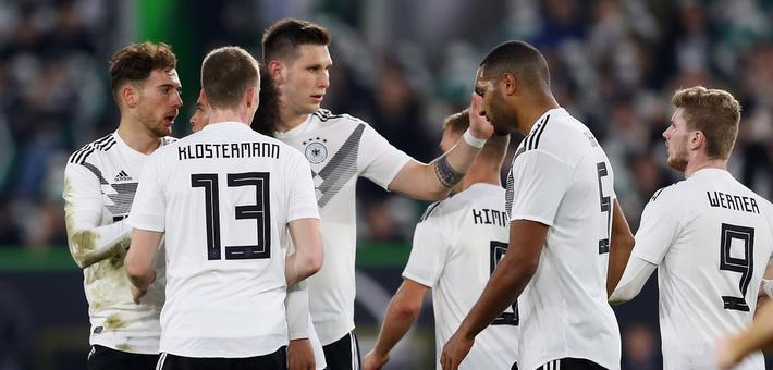 新德国战车起航 热身赛1-1平塞尔维亚