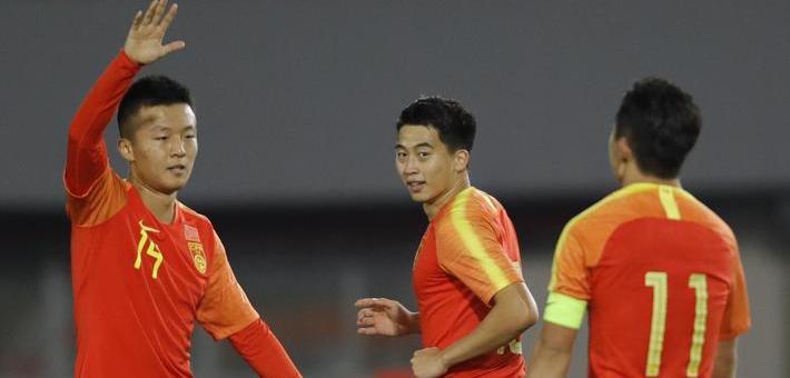 四国赛-胡靖航破门国奥1-0立陶宛