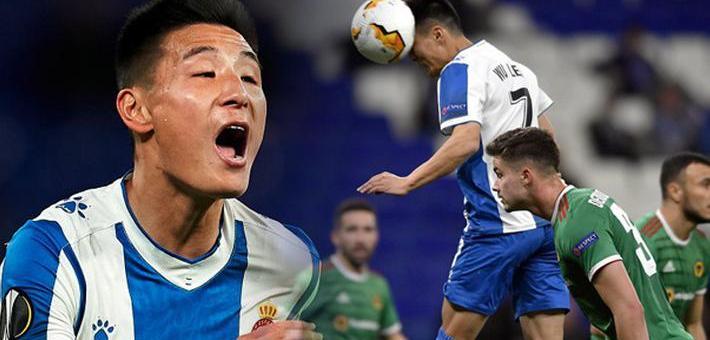 欧联杯-武磊替补 西班牙人3-2仍出局
