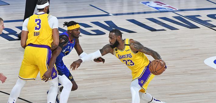 [NBA]湖人轻取掘金 大比分1-0