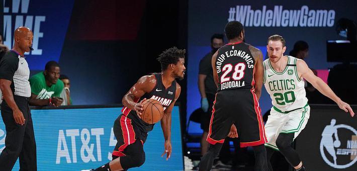 [NBA]热火4-2淘汰凯尔特人