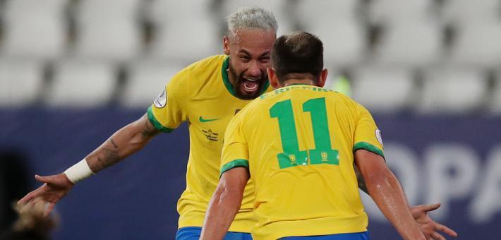 [美洲杯]巴西4-0秘鲁 内马尔破门