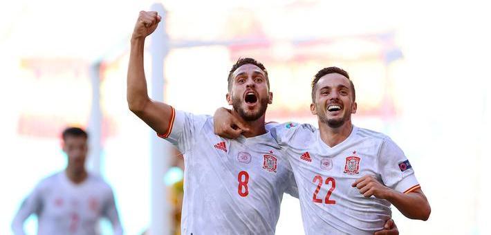 [欧洲杯]西班牙5-0斯洛伐克 大胜晋级