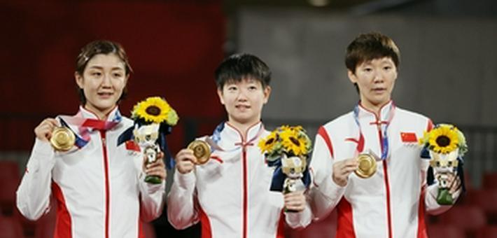 国乒女团3-0胜日本夺冠