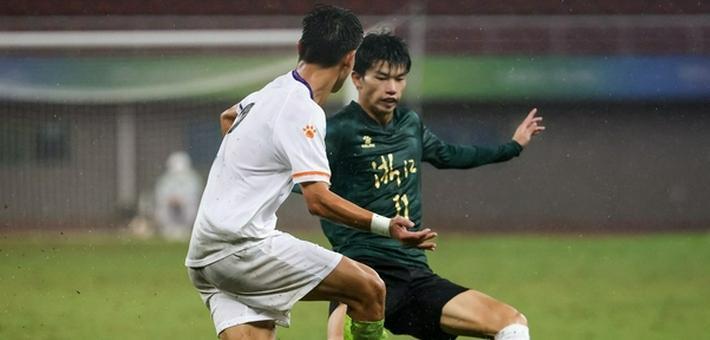 [全运会U20男足]浙江2-1新疆夺冠