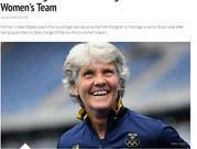 巴西女足迎历史首位外教!前中国女足助教确定执教