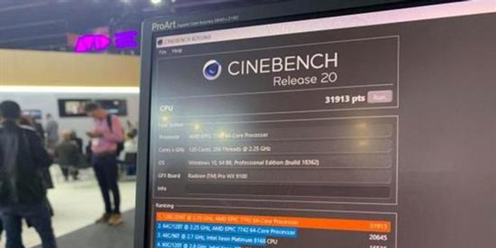 AMD雙路128核EPYC再創跑分紀錄 比友商性能提升一倍
