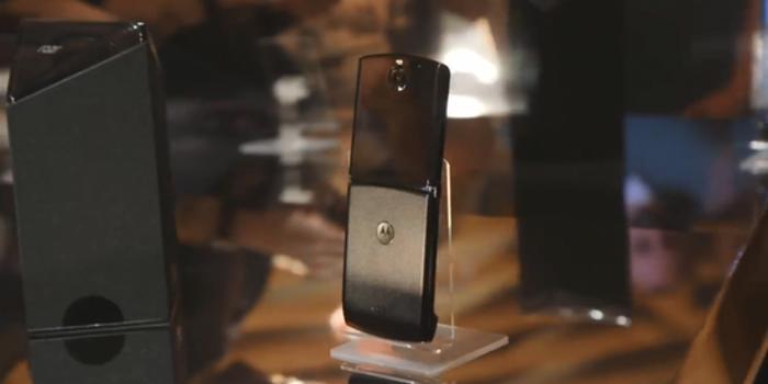 摩托羅拉折疊手機Razr將于2月6日上市