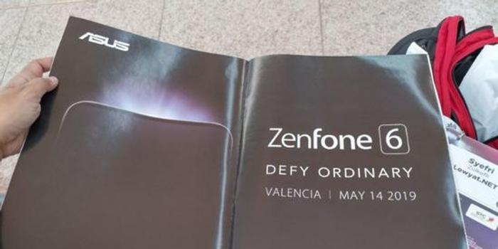 華碩Zenfone 6官宣:5月14日西班牙發布