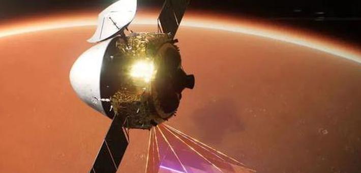 成了!天问一号完成中国首次火星着陆