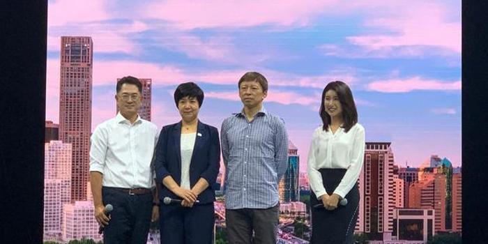 搜狐張朝陽出席三星發布會:5G將帶來更多可能性