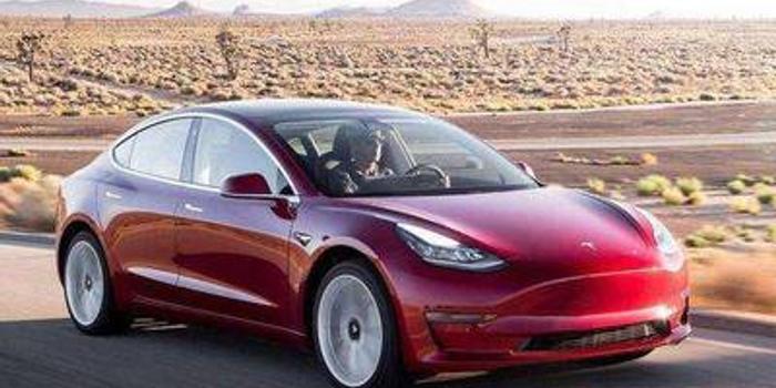 國產特斯拉Model3將可享受近2.5萬元國家新能源補貼