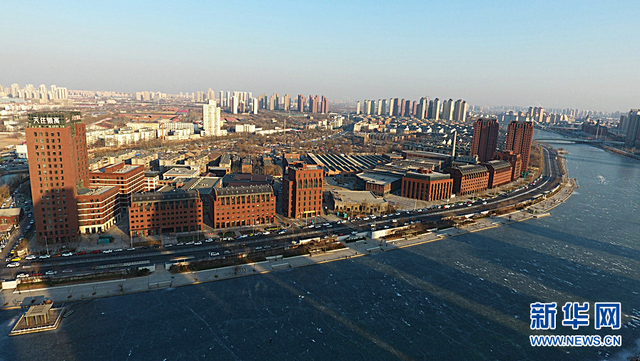 原棉三厂的前身是始建于1921年的裕大纱厂,八小时工作制概念也是从这里率先引入国内。图为航拍棉3创意街区。