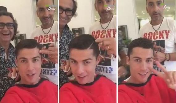 几分钟自拍视频观看_c罗自拍视频卖萌 问粉丝:我该理什么发型(图)