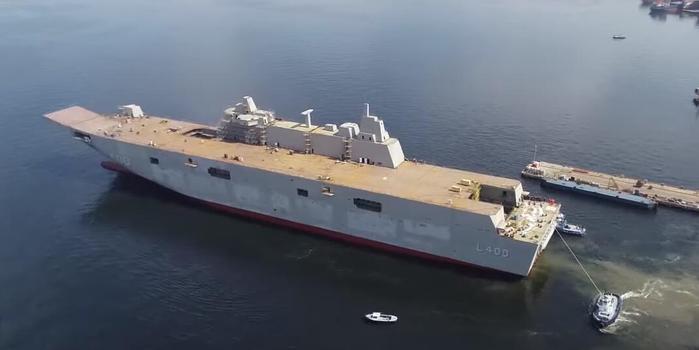 """土耳其国产""""航母""""将近完工 明年交付入列"""