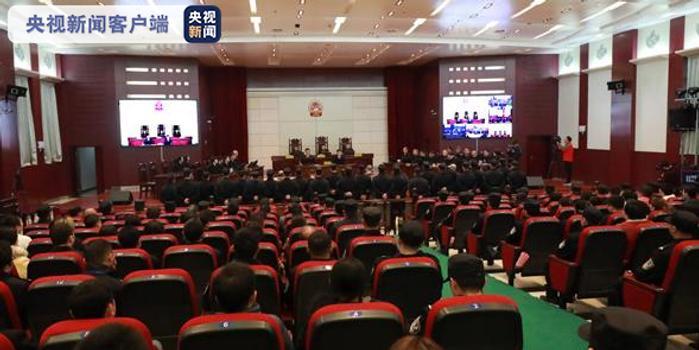 江西宜黃涉黑案一審宣判 104人獲刑1人死刑