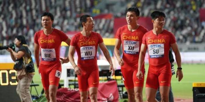 多哈田徑世錦賽:美國隊14金領跑 中國隊躋身四強