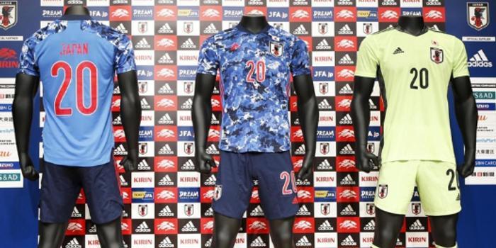日本足球隊發布最新款隊服 韓媒反應激烈:像軍服