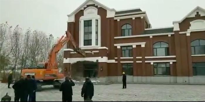 哈爾濱楊光楊榮涉黑案:違建別墅被拆除恢復濕地