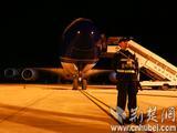 空客A380在武汉天河机场第二跑道成功试飞