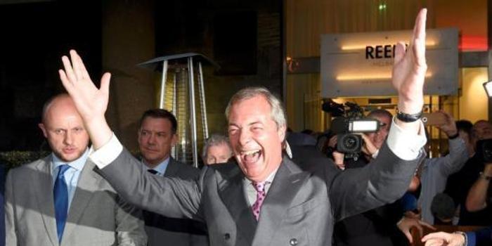 英国脱欧党首脑因不当言论被投诉 警方睁开观察