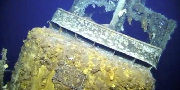 冲绳附近海域发现美潜艇残骸 疑似曾遭轰炸(图)