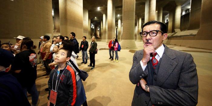 """揭秘東京""""地下神殿"""" 日本首都圈靠它免遭大洪水"""