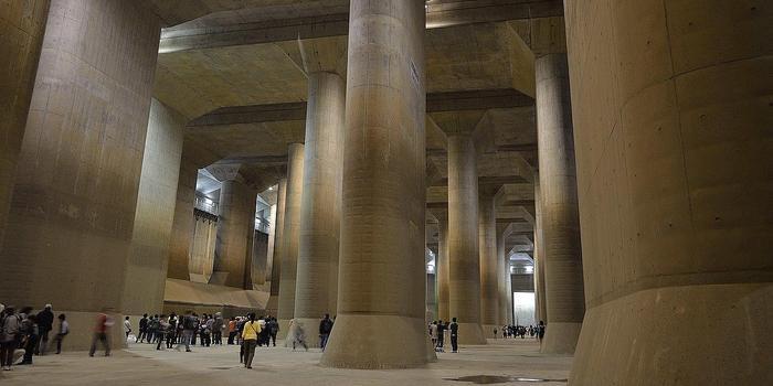 """應對洪水威脅 日本再次啟用""""地下神殿"""""""