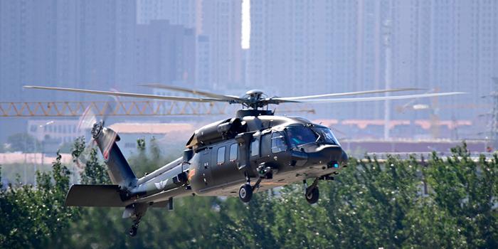 天津直升機博覽會:直20直升機首次近距離與公眾見面