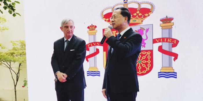 外交部副部長馬朝旭出席西班牙國慶招待會