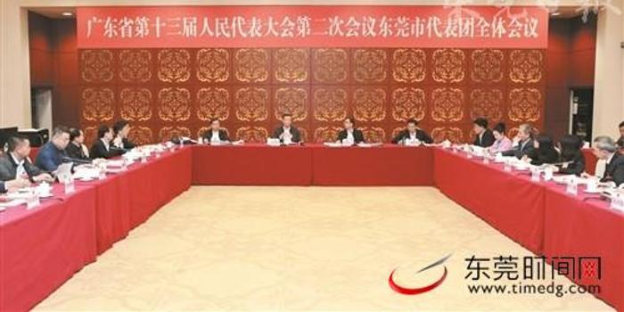 广东两会 省十三届人大二次会议东莞市代表团