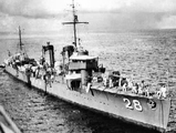 日本投降前一年一口气造32艘驱逐舰 战后战胜国引渡了其中一部分