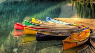 加拿大班夫国家公园,大山里独特的浪漫