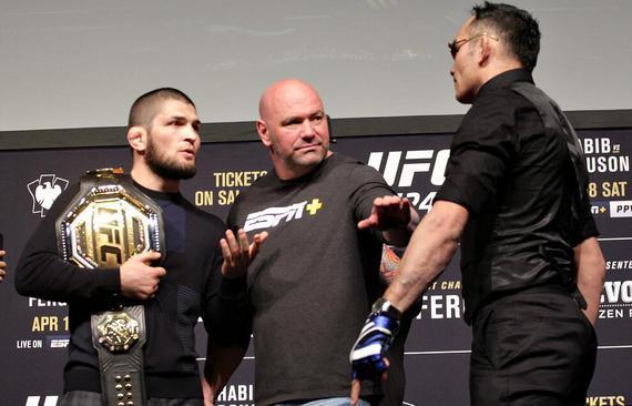 卡比布照常备战UFC249:我不在乎在哪里对决弗格森