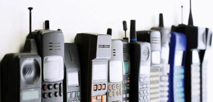 十年之前 你用的是什么手機?