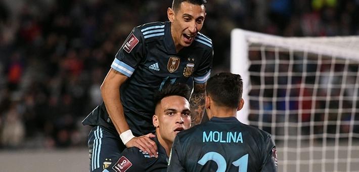 [世预赛]阿根廷1-0秘鲁 劳塔罗破门