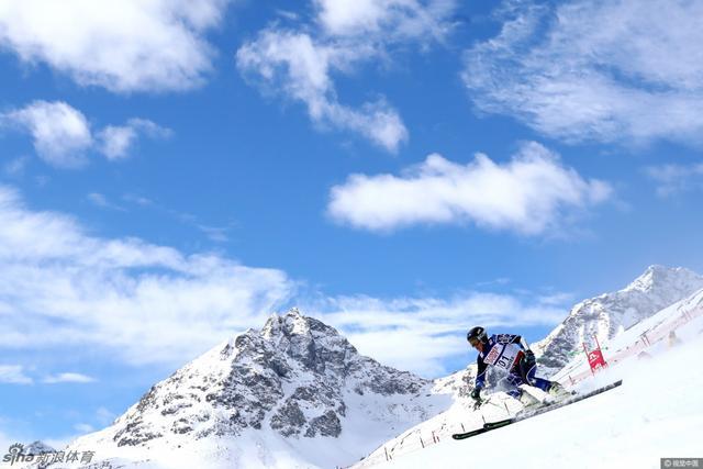 2017年2月17日,瑞士圣莫里茨,2017高山滑雪世锦赛男子大回转精彩赛况。
