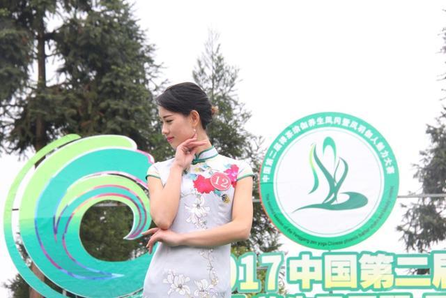 伽人旗袍秀 (新浪贵州 高圆松 摄)