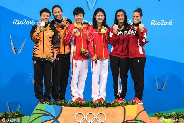 北京时间8月10日,女子双人十米台陈若琳/刘蕙瑕夺金,新浪体育为您送上精彩瞬间。