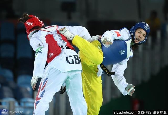 北京时间8月21日,里约奥运会跆拳道女子+67kg半决赛,郑姝音4-1战胜英国选手沃克登晋级决赛。